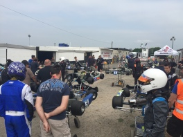 Llandow S1 - waiting to get on the grid